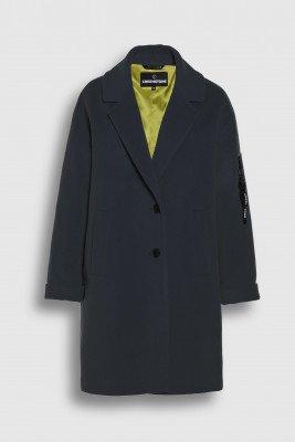 Creenstone Creenstone Wool cashmere blazer coat - Night Blue
