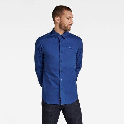 G-Star RAW Dressed Super Slim Shirt - Midden blauw - Heren