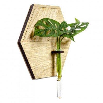 Growing Concepts Huldra - Eiken wandpaneel incl. reageerbuis 22cm / 25cm / Hout