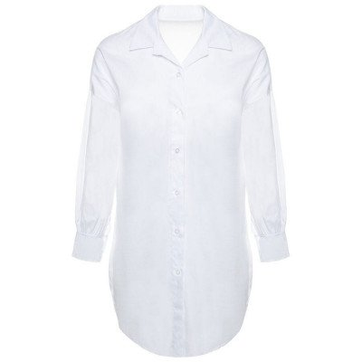 ComegetFashion WITTE BLOUSE OVERSIZED
