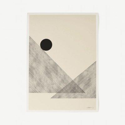 MADE.COM The Poster Club, Altitude, print door Studio Paradissi, 70 x 100 cm
