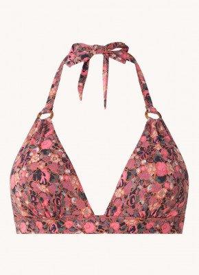 love stories Love Stories Sade halter bikinitop met bloemenprint