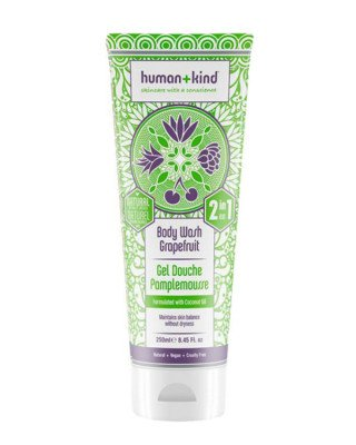 Human+Kind Human+Kind - All-in-One Shampoo+Body Wash Grapefruit - 250 ml
