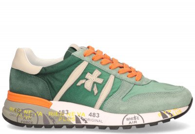 Premiata Premiata Lander 4588 Groen Herensneakers