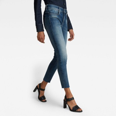 G-Star RAW Lhana Skinny Ankle Jeans - Midden blauw - Dames