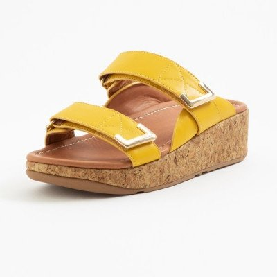 FitFlop FitFlop Remi slippers geel