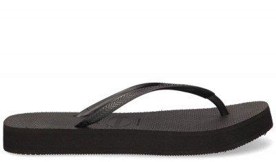Havaianas Havaianas Slim Flatform Zwart Damesslippers