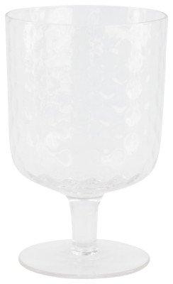 HEMA HEMA Wijnglas Bergen Facet Reliëf 250ml