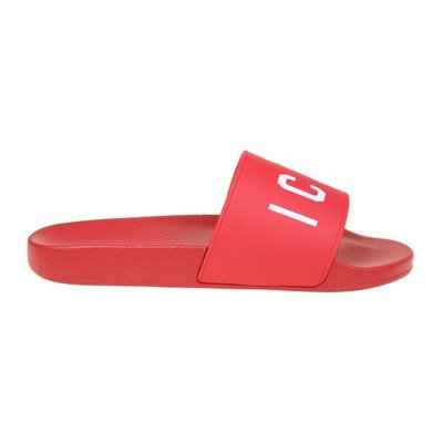 Dsquared2 slippers with red logo