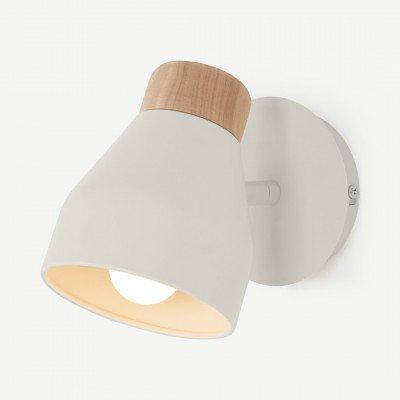 MADE.COM Albert wandlamp, zachtgrijs