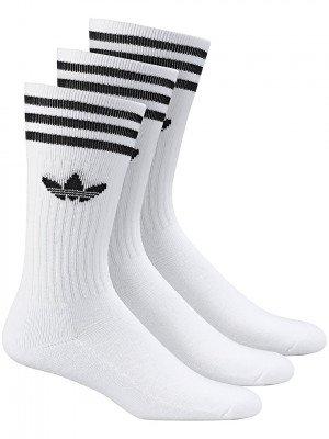 adidas Originals adidas Originals Solid Crew Socks wit