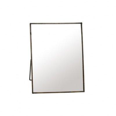 Firawonen.nl PTMD wade iron brass antiek spiegel in frame