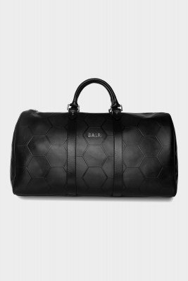 BALR. BALR. Hexagon AOP Embossed Leather Duffle Bag