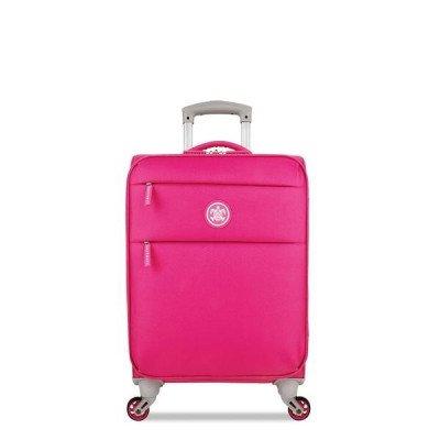 SuitSuit Suitsuit Caretta - Handbagagekoffer Soft - 53 Cm - Hot Pink