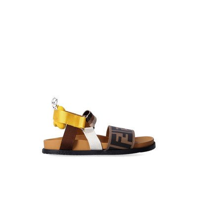 Fendi Sandals with logo