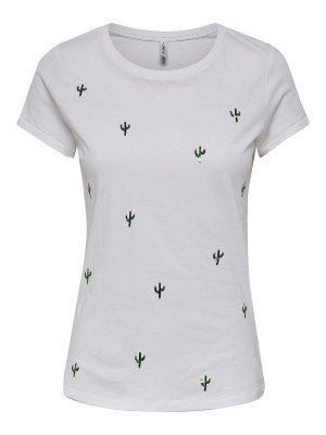 ONLY ONLY ONLKITA LIFE FIT S/S CACTUS TOP BOX