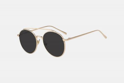 Blank-Sunglasses NL OLY. - Gold with black