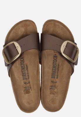 Birkenstock Birkenstock Madrid Big Buckle slippers bruin
