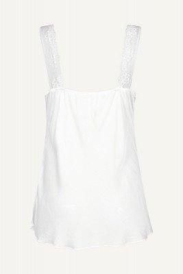 Le ballon Le Ballon Shirt / Top Wit Hemdje satijn