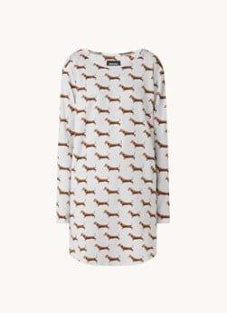 Snurk Snurk James nachthemd met print