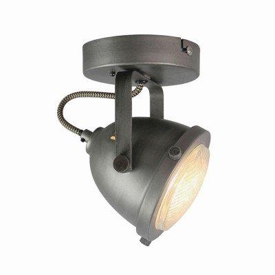 LABEL51 LABEL51 LED Spot 'Moto' 1-lichts, kleur Burned Steel