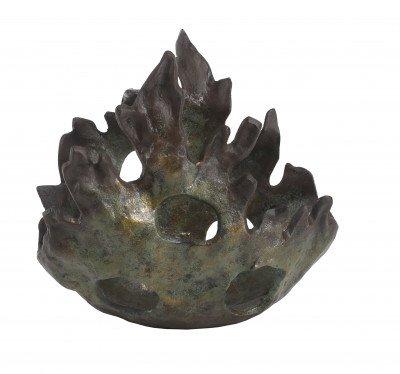 Firawonen.nl Ptmd roux bronze decoratie schaal l