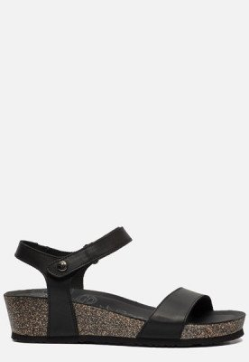 Panama Jack Panama Jack Capri Basics B2 sandalen zwart