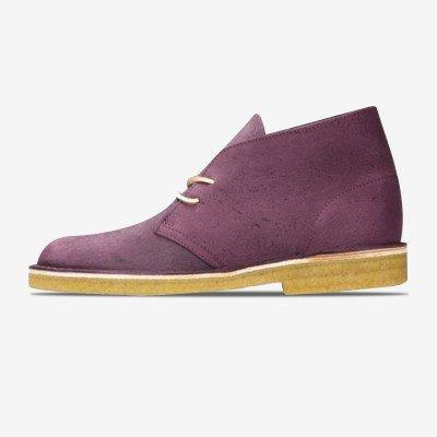 """Clarks Desert Boot """"Purple"""""""