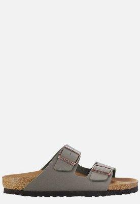 Birkenstock Birkenstock Arizona slippers grijs