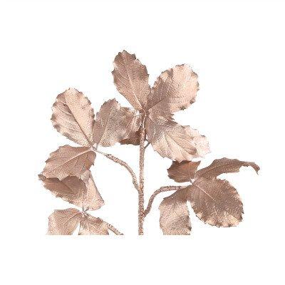 Firawonen.nl PTMD leaves plant goud glitter maple blad tak