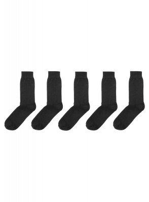 HEMA 5-pak Herensokken Zwart (zwart)