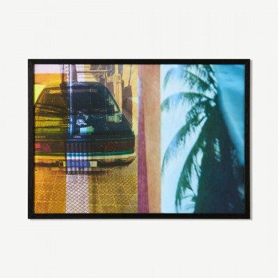 MADE.COM MEP Studio Palmerai Acid Chique, ingelijste print, door Visser & Van Leeuwen, A2