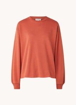 Aligne Aligne Oversized sweater van biologisch katoen