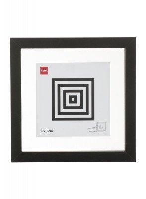 HEMA Fotolijst - Hout - Zwart - Magnetisch 15 X 15