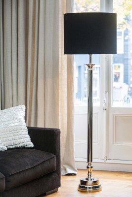 Light en Living Light & Living Vloerlamp 'Floris' Nikkel