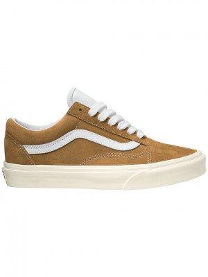 Vans Pig Suede UA Old Skool Sneakers bruin
