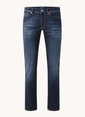 Gant Gant Slim fit jeans met medium wassing