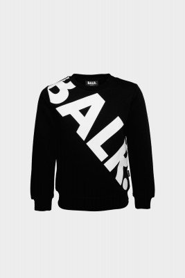 Tilted Logo Crew Neck Kids