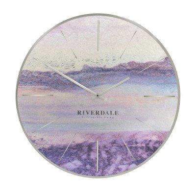 Riverdale NL Wandklok Brixton metallic 50cm