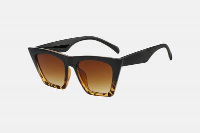 Blank-Sunglasses NL NAOMI. - Blackleopard with brown