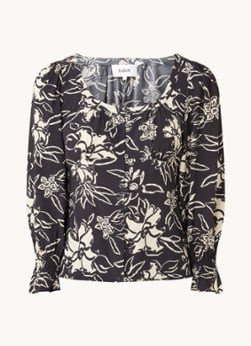 BAenSH ba&sh Sessee blouse met bloemenprint