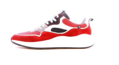 Floris van Bommel Floris van Bommel Floris Sport Red Textile