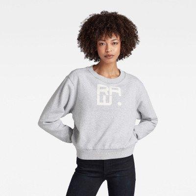 G-Star RAW Graphic Crew Sweater - Meerkleurig - Dames