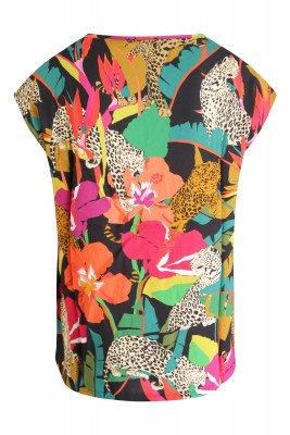 Geisha Geisha Shirt / Top Zwart 03243-20