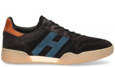 Hogan Hogan H357 Zwart/Multicolor Herensneakers