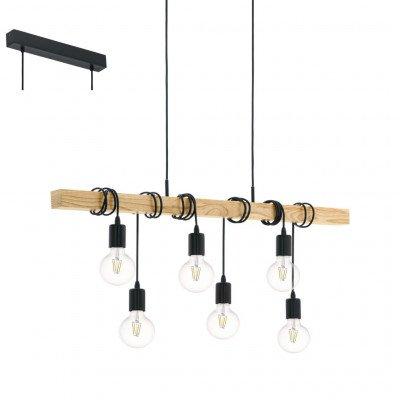 Woonexpress Hanglamp Townshend Zwart
