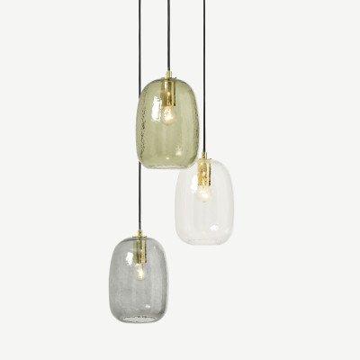 MADE.COM Lykke kroonluchter met 3 lampen