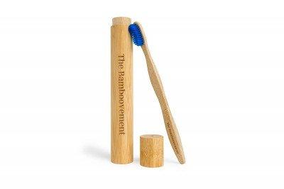 The Bamboovement Bamboe Tandenborstel met Koker