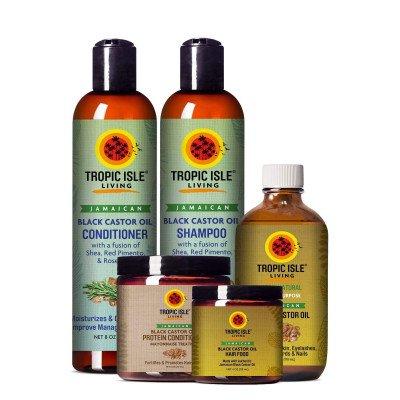 Tropic Isle Living Conditioner met Wonderolie uit Jamaica (JBCO) - 236ml Tropic Isle Living