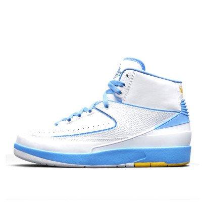 Air Jordan Air Jordan Nike AJ 2 II Retro White University Blue (Melo 2018)